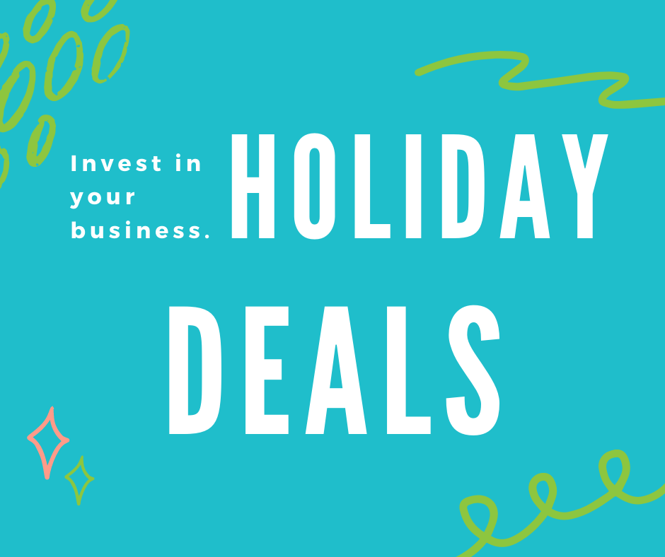 Holiday deals to grow your business