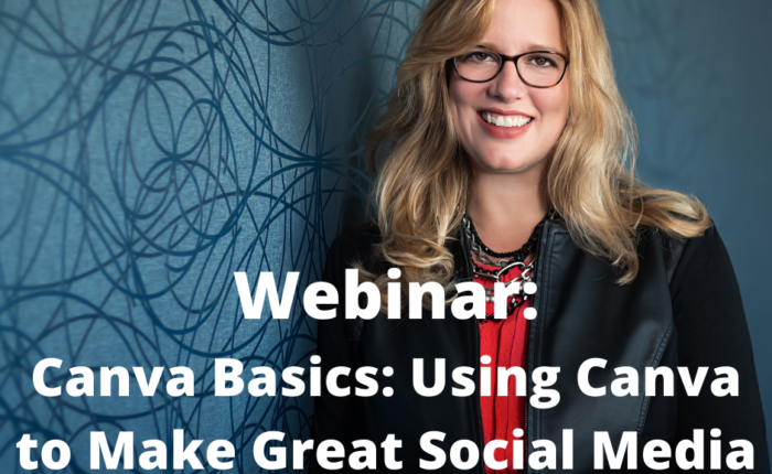 Join us for our webinar on Canva Basics