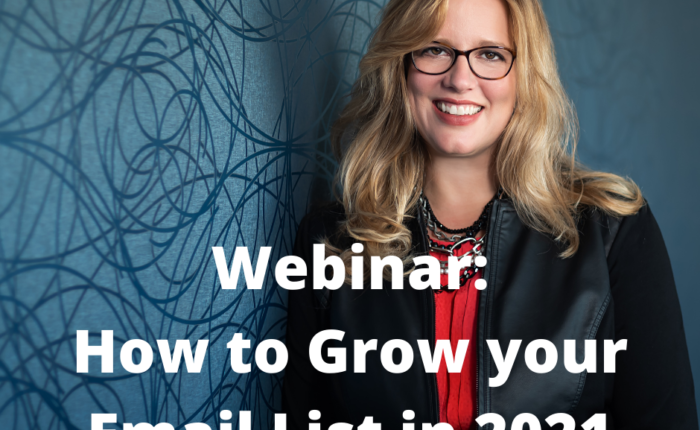 Grow your Email list in 2021