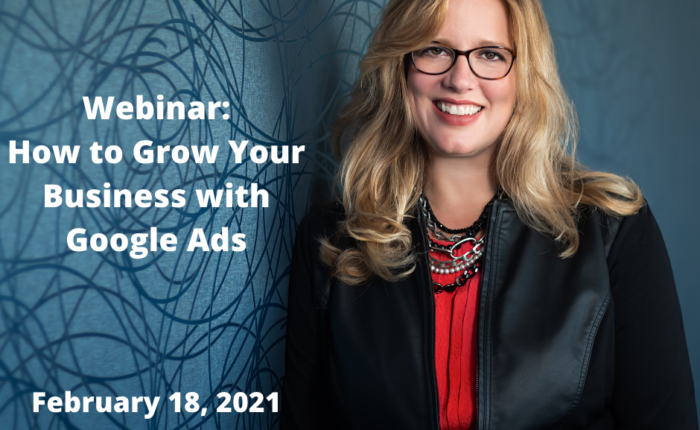Webinar on how to grow with Google ads