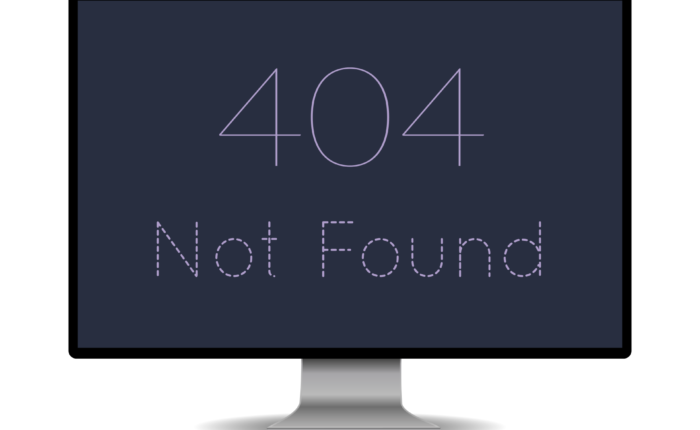 a plain 404 error page leaving things lacking it would be better with a custom 404 page